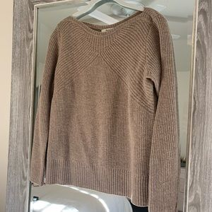 Madewell Sweater in Camel